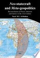 Neo statecraft and Meta geopolitics