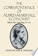 The Correspondence of Alfred Marshall, Economist