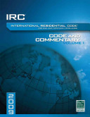IRC International Residential Code for One  and Two family Dwellings