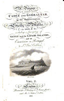download ebook a voyage to cadiz and gibraltar, up the mediterranean to sicily and malta, in 1810, & 11 pdf epub