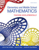 Elementary and Middle School Mathematics