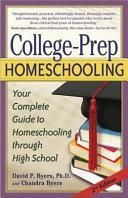 College Prep Homeschooling