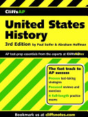 CliffsAP United States History, 3rd Edition