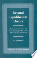 Beyond Equilibrium Theory