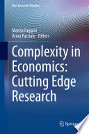 Complexity In Economics Cutting Edge Research