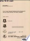 Hush House Induced Vibrations at the Arkansas Air National Guard Facility  Fort Smith  Arkansas Book PDF