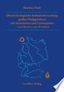 Ökotoxikologische Sedimentbewertung grosser Fließgewässer mit Nematoden und Gastropoden