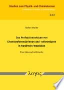 Das Professionswissen von Chemiereferendarinnen und -referendaren in Nordrhein-Westfalen