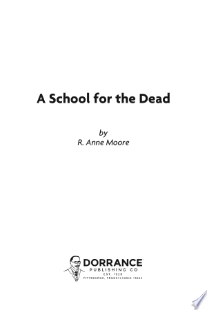 A School for the Dead - ISBN:9781480909762