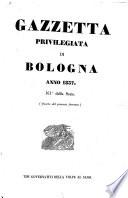 Gazzetta privilegiata di Bologna