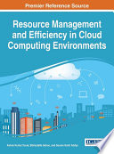 Resource Management And Efficiency In Cloud Computing Environments