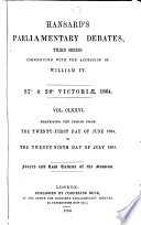 Ebook HANSARD'S PARLIAMENTARY DEBATES, THIRD SERIES COMMENCING WITH THE ACCESSION OF WILLIAM IV. 27 & 28 VICTORIAE, 1864. VOL CLXXVI. COMPRISING THE PERIOD FROM THE TWENTY-FIRST DAY OF JUNE 1864, TO THE TWENTY-NINTH DAY OF JULY 1864. FOURTH AND LAST VOLUME OF THE SESSION. Epub N.A Apps Read Mobile