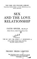 Sex and the love relationship
