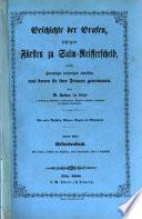 Geschichte der Grafen, jetzigen Fürsten zu Salm-Reifferscheid, sowie ihrer Länder und Sitze