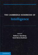 The Cambridge Handbook of Intelligence