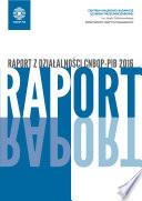 Raport z działalności CNBOP-PIB 2016