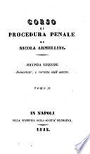 Corso di procedura penale di Nicola Armellini