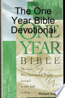 The One Year Bible Devotional The One Year Bible