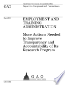 Employment And Training Administration