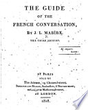 The Guide of the French Conversation     The Third Edition