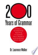 200 Years of Grammar