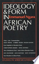 Ideology & Form in African Poetry