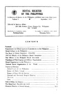 Dental Register of the Philippines
