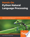 Hands On Python Natural Language Processing