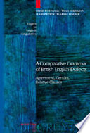 A Comparative Grammar of British English Dialects