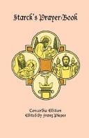 Starck s Prayer Book  Concordia Edition