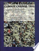 Climate Change 1995  Economic and Social Dimensions of Climate Change