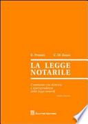 La legge notarile