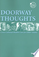 Doorway Thoughts  Cross Cultural Health Care for Older Adults