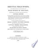 Oriental field sports