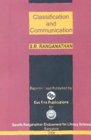 Classification And Communication