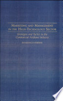 Marketing And Management In The High Technology Sector