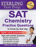 Sterling Test Prep SAT Chemistry Practice Questions
