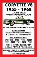 Corvette V8 1955 1962 Owner s Workshop Manual