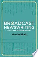 Broadcast Newswriting