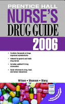 Prentice Hall Nurse s Drug Guide 2006