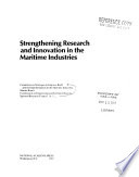 Strengthening Research and Innovation in the Maritime Industries