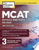 MCAT Physics and Math Review  3rd Edition