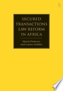 Secured Transactions Law Reform In Africa