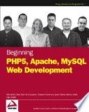 Beginning PHP5  Apache  and MySQL Web Development