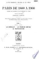 Paris de 1800    1900