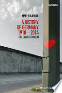 A History of Germany 1918 2014