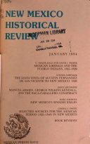 New Mexico Historical Review Book PDF