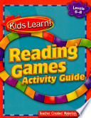 Kids Learn  Reading Games  Grades 6 8 Kit