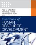 Handbook of Human Resource Development