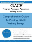 Gace Writing Essay   Program Admission Assessment